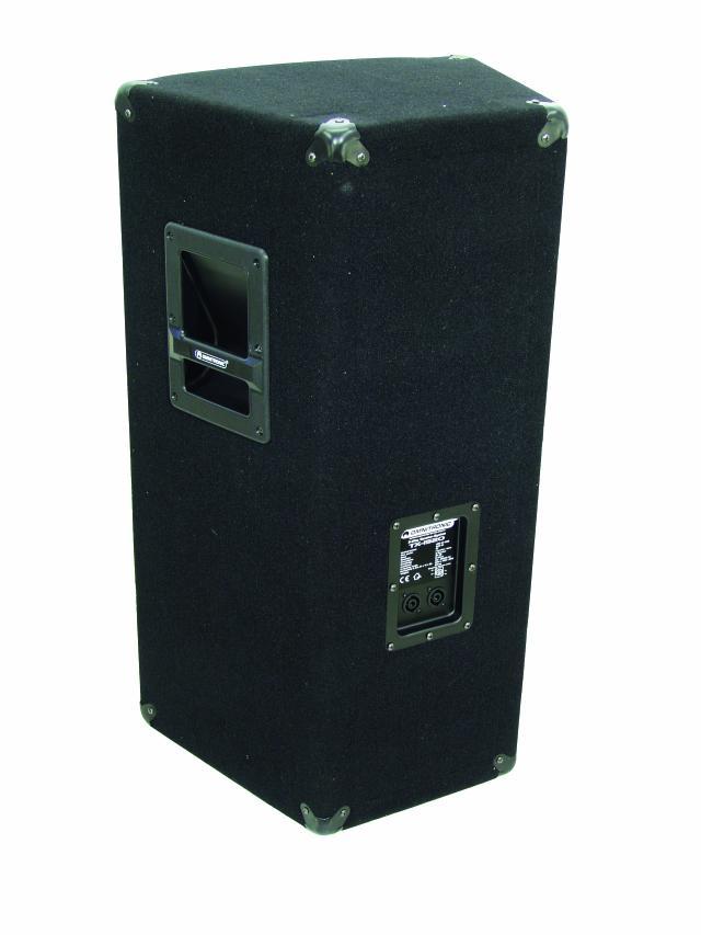 Omnitronic TX-1520, reprobox 350W - pohled zezadu