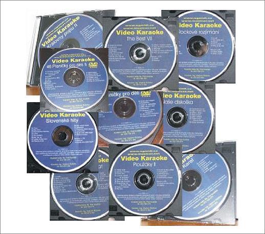 KARAOKE ZÁBAVA: TOP 10 DVD