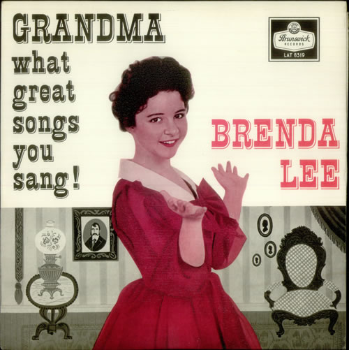 Foto alba: Grandma, What Great Songs You Sang! - Lee, Brenda