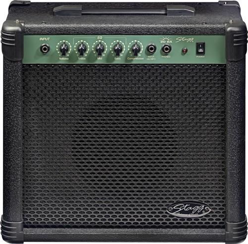 Stagg 20 BA, kombo pro el. baskytaru, 20W - Basové kytarové kombo