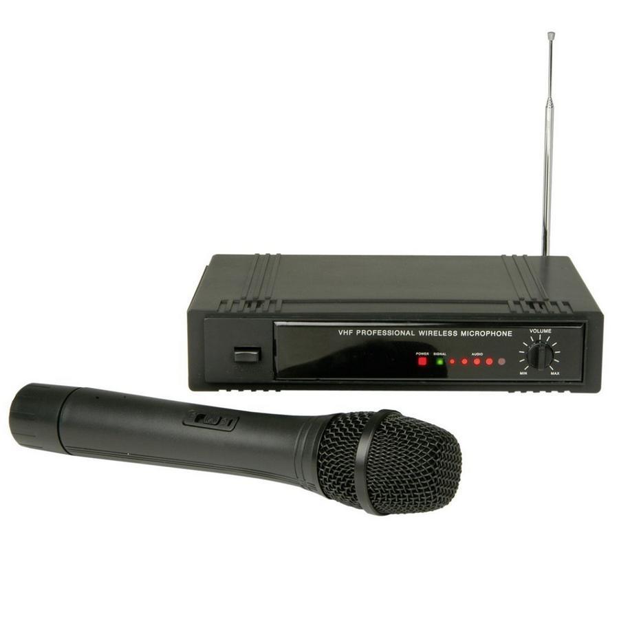 KARAOKE ZÁBAVA: Bezdrátový mikrofon VHF za super cenu