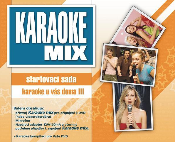 Karaoke MIX - startovací sada - Základní pomůcka pro takové to domácí zpívání, šak víme ...