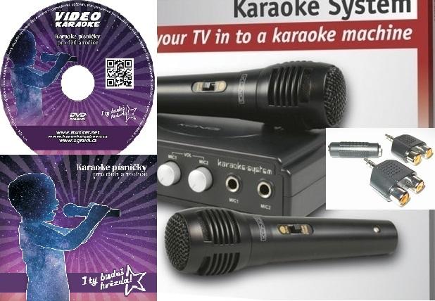 Karaoke sada pro děti a rodiče - Karaoke mix je základ, to by v karaoke sadě chybět nemělo. Když spojíme ale dobrou sadu s výborným mixem skladeb, tak je vyhráno.