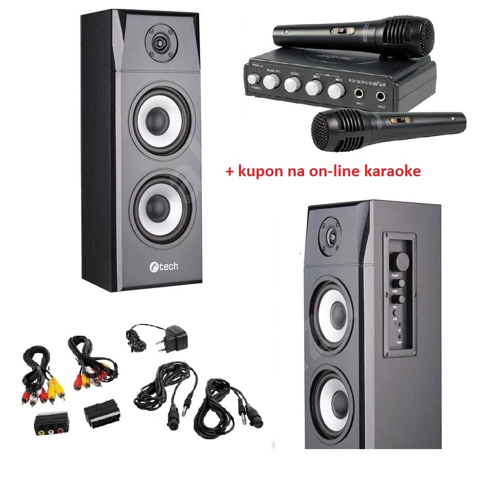 Karaoke set pro tablet nebo smartphone